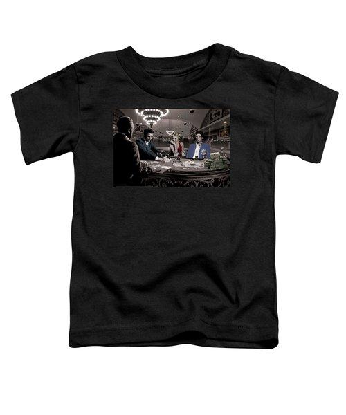 Royal Flush Toddler T-Shirt by Chris Consani