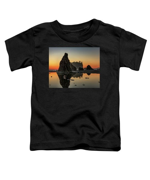 Ruby Beach At Sunset Toddler T-Shirt