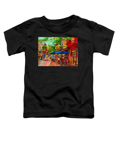 Rue Prince Arthur Montreal Toddler T-Shirt