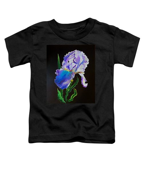Ruffled Iris Toddler T-Shirt