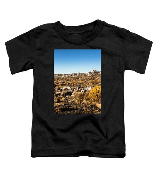 Rugged Mountain Town Toddler T-Shirt