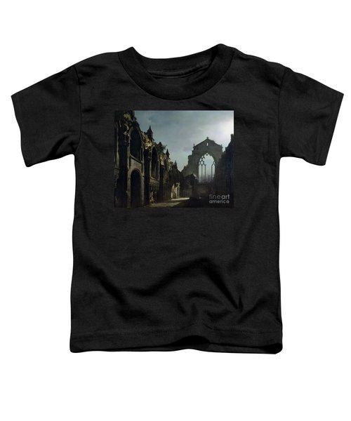 Ruins Of Holyrood Chapel Toddler T-Shirt