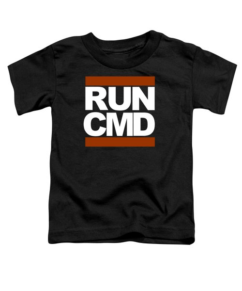 Run Cmd Toddler T-Shirt