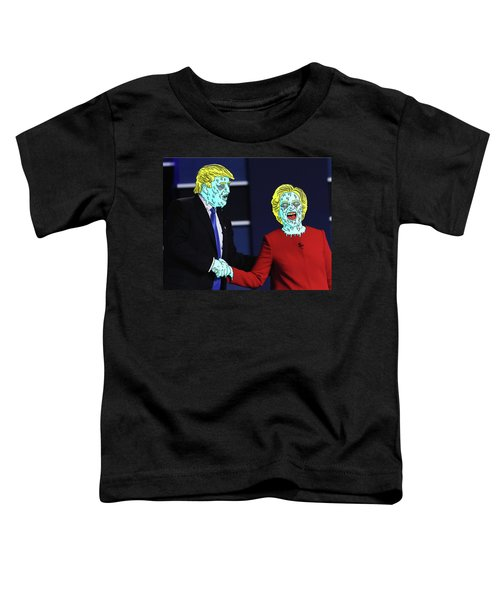 Running Down The Same Cloth. Toddler T-Shirt