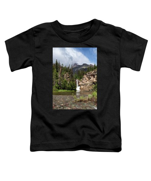 Running Eagle Falls Toddler T-Shirt
