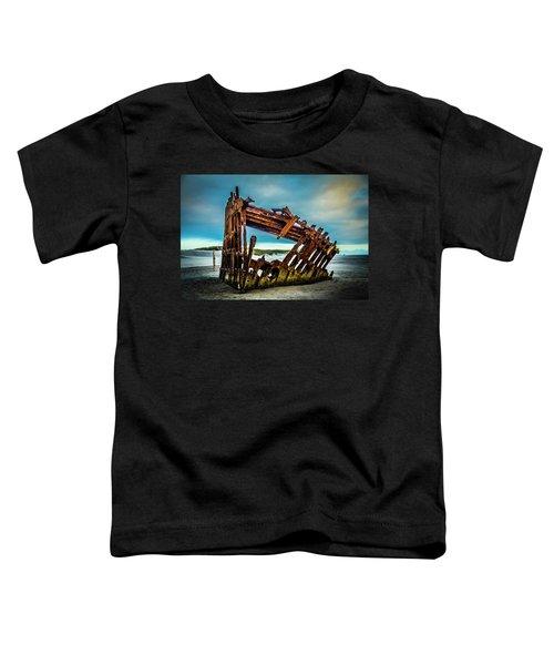 Rusty Forgotten Shipwreck Toddler T-Shirt