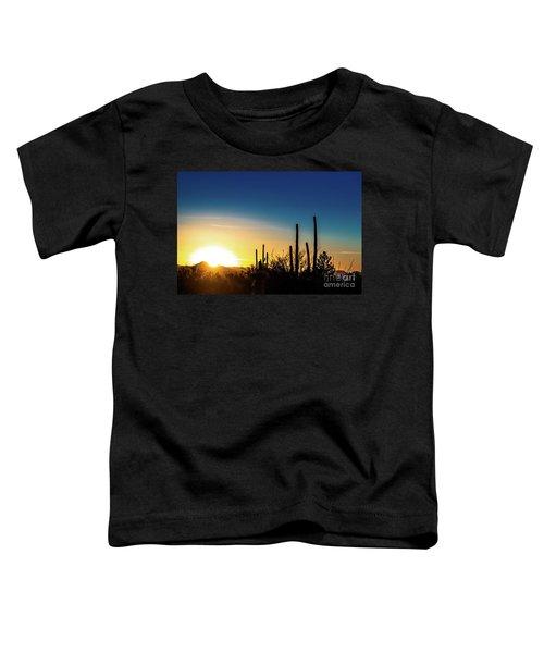 Saguaro Sunset Toddler T-Shirt