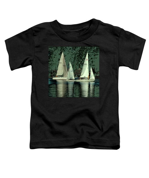 Toddler T-Shirt featuring the photograph Sailing Reflections by David Patterson