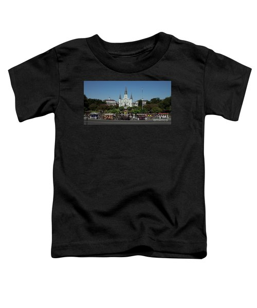 Saint Lewis Cathedral French Quarter New Orleans, La Toddler T-Shirt