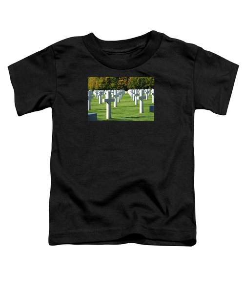 Toddler T-Shirt featuring the photograph Saint Mihiel American Cemetery by Travel Pics