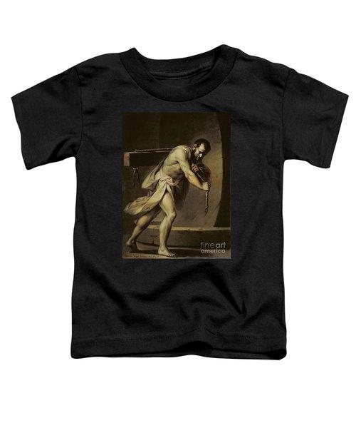 Samson In The Treadmill Toddler T-Shirt