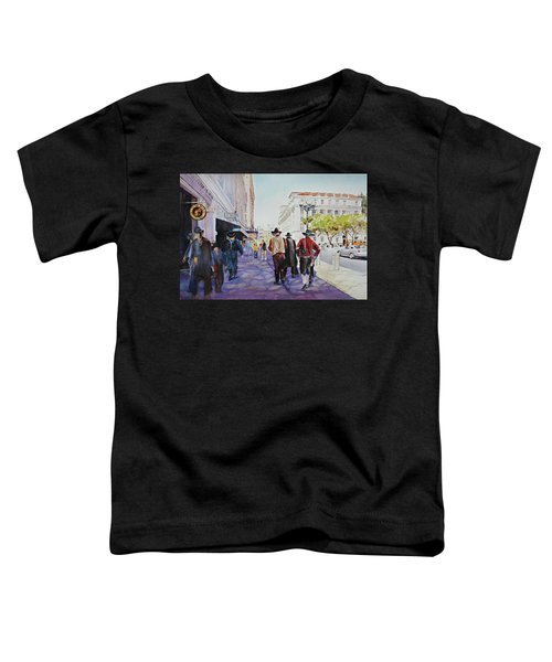 San Antonio Cowboys Toddler T-Shirt
