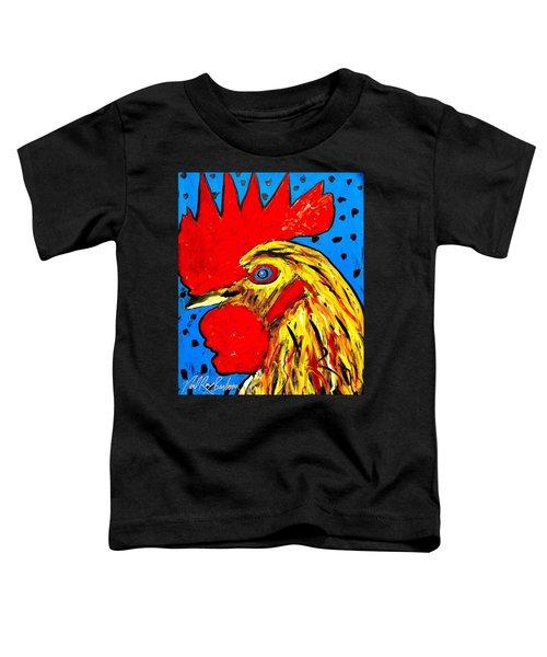 San Antonio Rooster Toddler T-Shirt