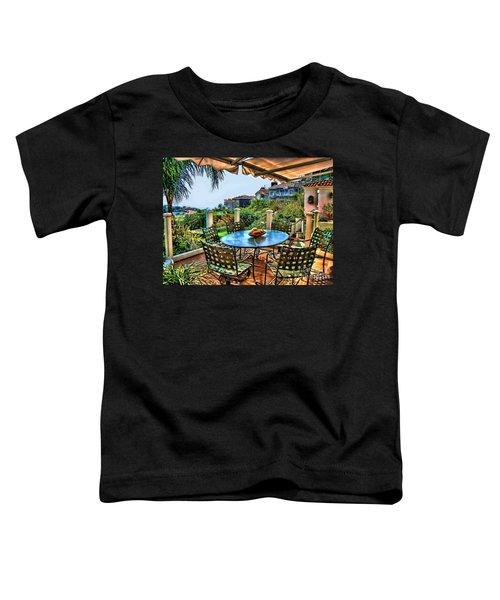San Clemente Estate Patio Toddler T-Shirt