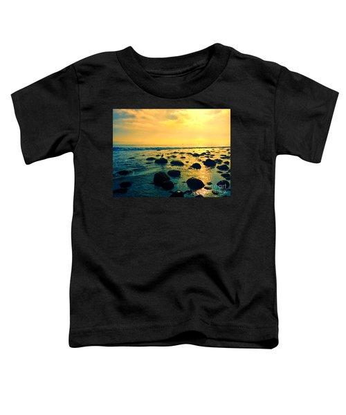 Santa Barbara California Ocean Sunset Toddler T-Shirt