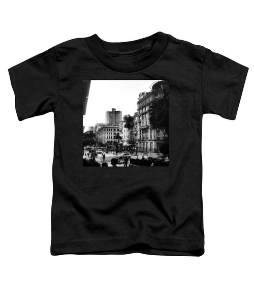 Sao Paulo Downtown #pracaantonioprado Toddler T-Shirt