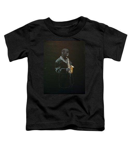 Sax Player Toddler T-Shirt