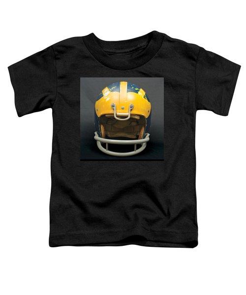 Scarred 1970s Wolverine Helmet Toddler T-Shirt