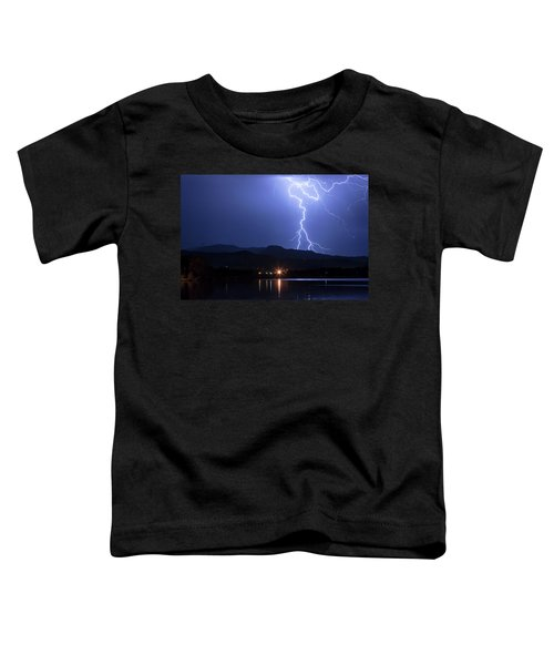 Toddler T-Shirt featuring the photograph Scribble In The Night by James BO Insogna