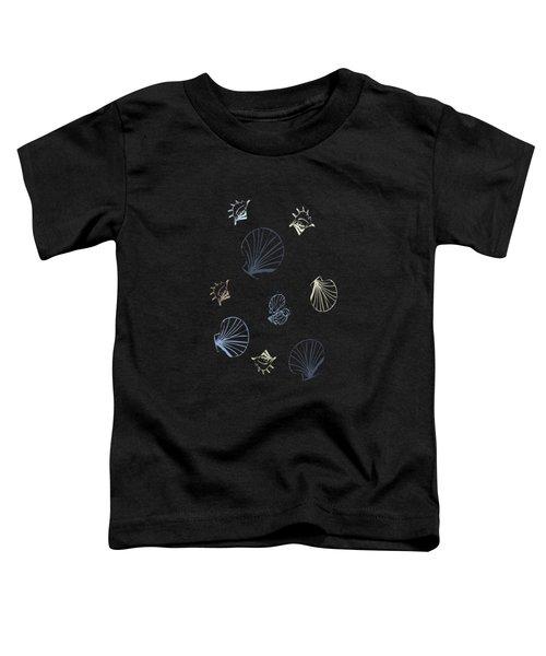 Seashell Pattern Toddler T-Shirt