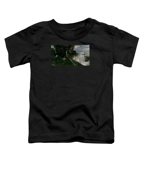 Seaside Cemetery Toddler T-Shirt