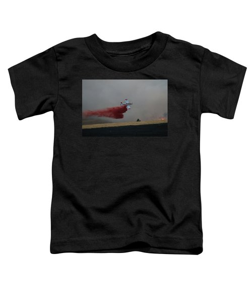 Seat Drops On Indian Canyon Fire Toddler T-Shirt