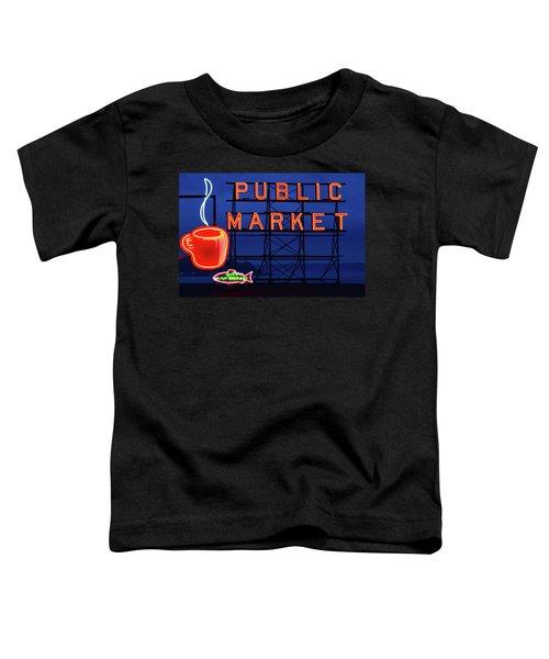 Seattle Glow Toddler T-Shirt