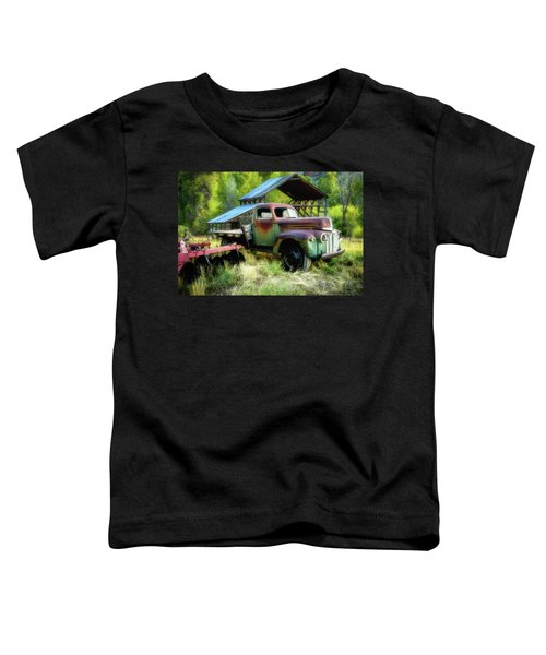 Seen Better Days - Ford Farm Truck Toddler T-Shirt