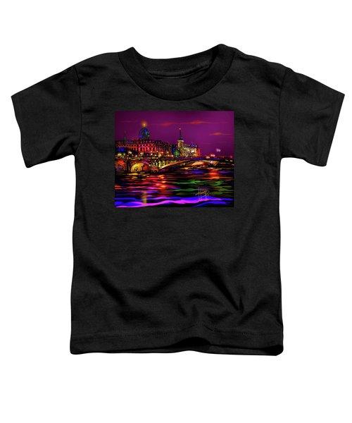 Seine, Paris Toddler T-Shirt