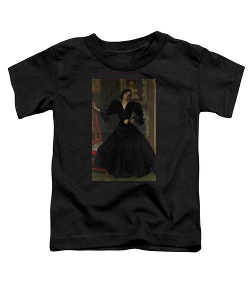 Senora De Sorolla In Black Toddler T-Shirt