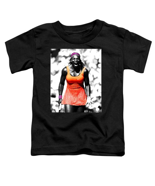 Serena Williams Fired Up Toddler T-Shirt