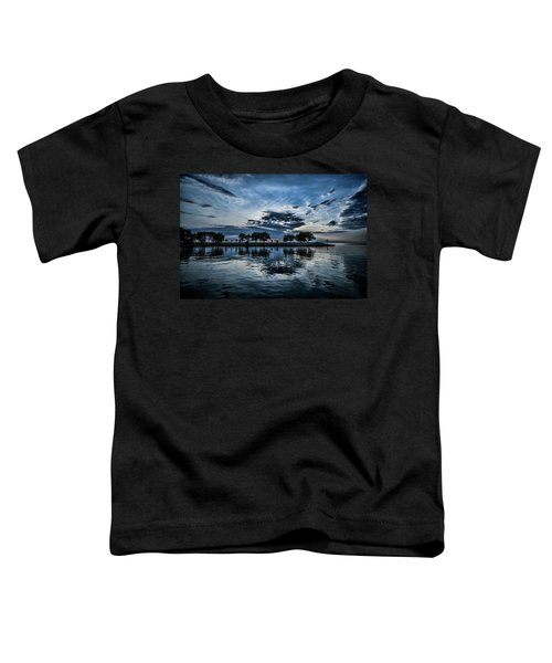 Serene Summer Water And Clouds Toddler T-Shirt