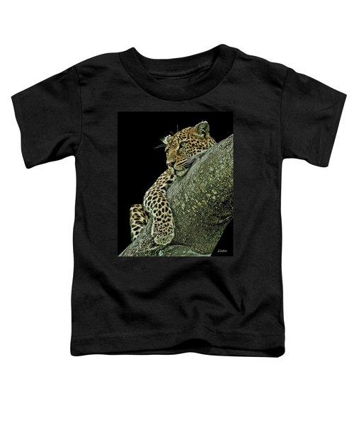 Serengeti Leopard 2a Toddler T-Shirt