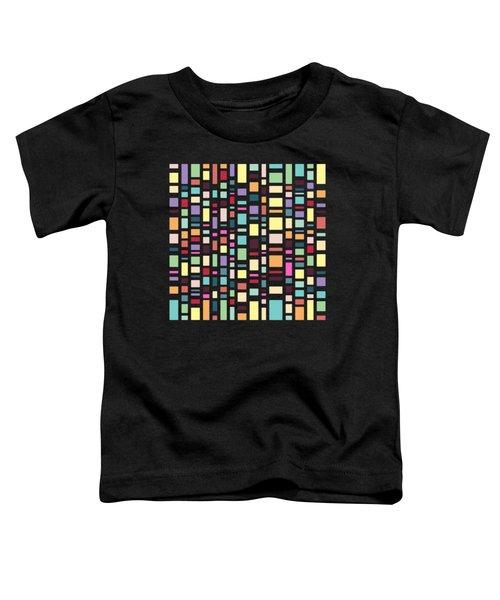 Seventeen Pattern Dark Toddler T-Shirt