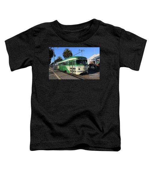 Sf Muni Railway Trolley Number 1006 Toddler T-Shirt