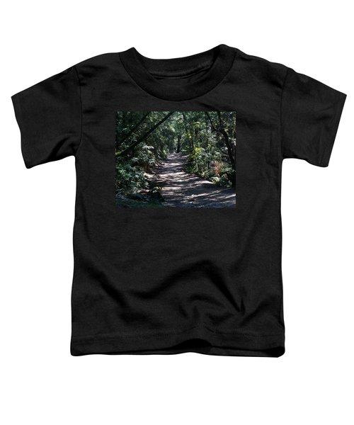 Shady Road On Mt Tamalpais Toddler T-Shirt
