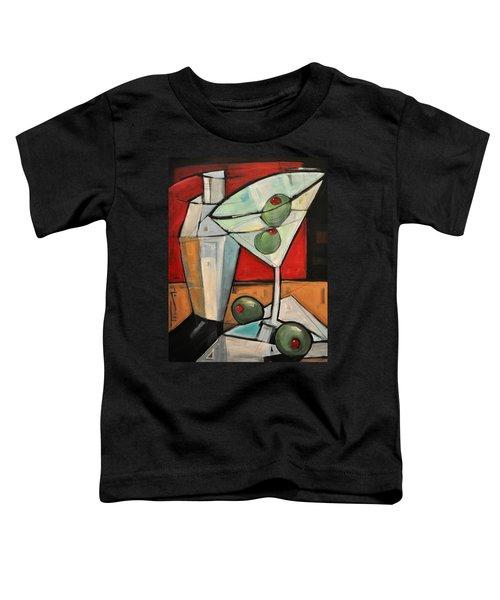 Shaken Not Stirred Toddler T-Shirt