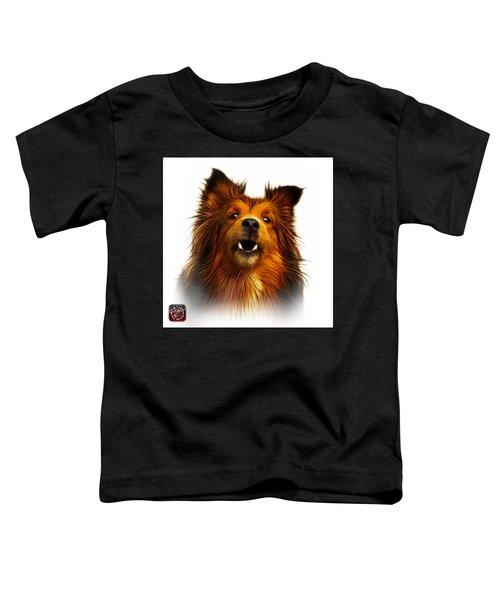 Sheltie Dog Art 0207 - Wb Toddler T-Shirt