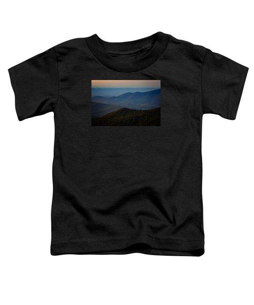 Shenandoah Valley At Sunset Toddler T-Shirt