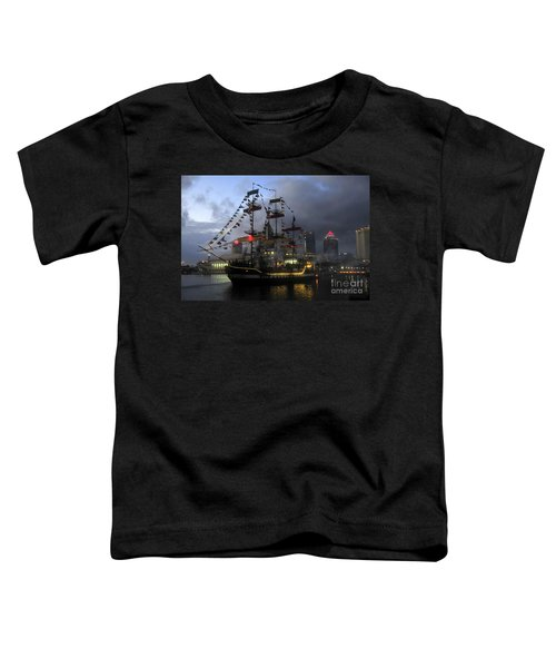 Ship In The Bay Toddler T-Shirt