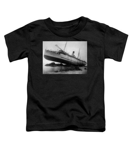 Shipwreck - Ss Princess May - August 5, 1910 Toddler T-Shirt