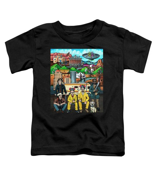 Shooting Stars In New Mexico Toddler T-Shirt