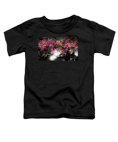 Shower Tree Flowers And Hawaii Sunset Toddler T-Shirt