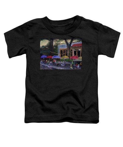 Sidewalk Cafe Toddler T-Shirt