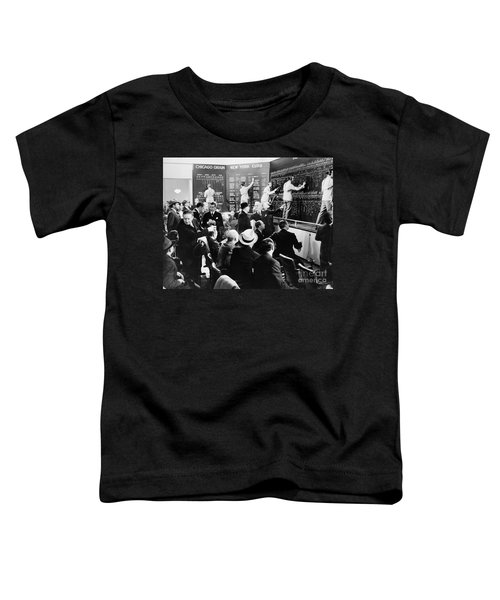 Silent Still: Banking Toddler T-Shirt