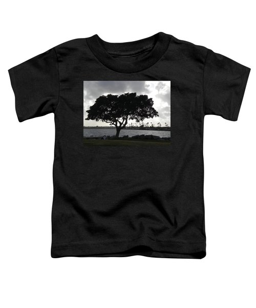 Silhouette Of Tree Toddler T-Shirt