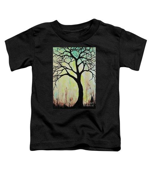 Silhouette Tree 2018 Toddler T-Shirt