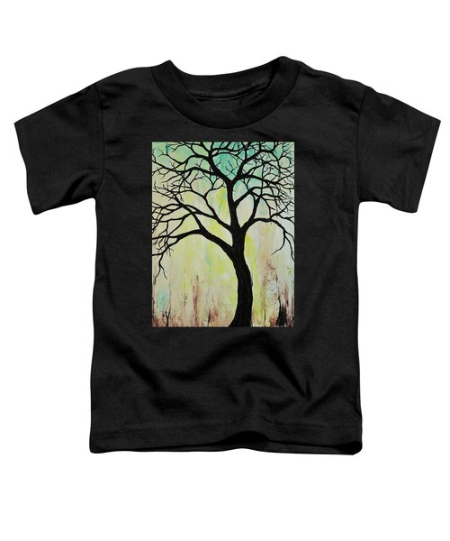 Silhouette Tree 2018 Toddler T-Shirt