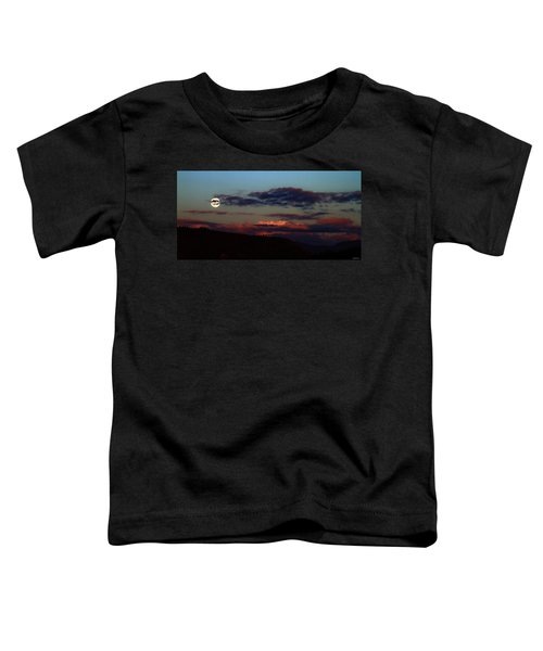 Silver Valley Moon Toddler T-Shirt