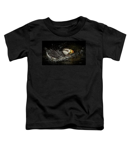 Simple Puffin Toddler T-Shirt